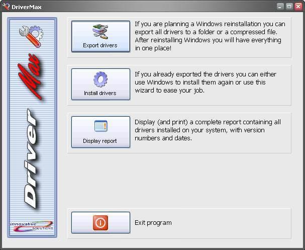 Faça um backup dos drivers do seu computador automaticamente com DriveMax 2.5