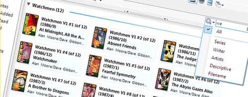 Organizar toda a sua biblioteca de revistinhas, HQ, manga e anime no computador é muito gostoso usando o ComicRack
