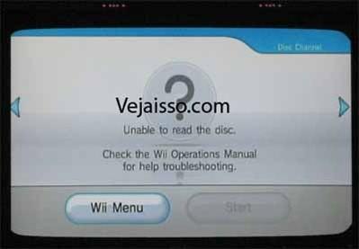 Wii - DRE Disc Read Error - Erro ao ler o disco - Saiba o