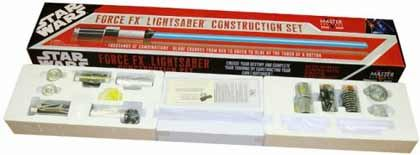 Kit de construção do sabre de Luz original do Star Wars