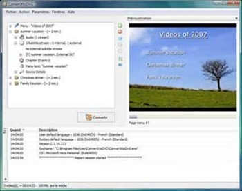 Programa ConvertXtoDVD - Converter e gravar vídeos para DVD - AVI, Mpeg, Mpeg4, mp4