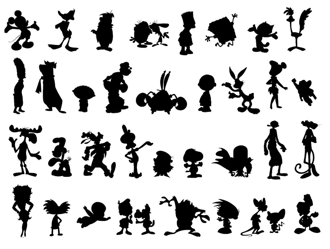 de Desenhos animados – Jogo de reconhecer Personagens de Cartoons