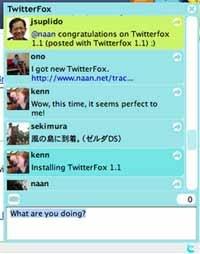 Twitterfox para os usuários do Twitter para firefox