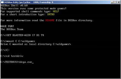 DOSBox - Emulador de DOS para jogar jogos de DOS, Windows 95 e 98