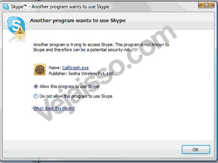 Gravar Ligações no Skype - Permitir que Call Graph Grave as ligações