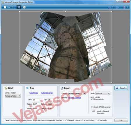 Montar fotos panoramicas com sua camera de fotografia e Image Composite