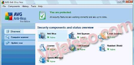 AVG Antivirus FREE – Download do Antivirus gratis mais baixado em 2007 e 2008
