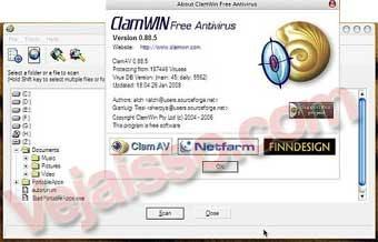 ClamWin Anti-vírus download completo Grátis