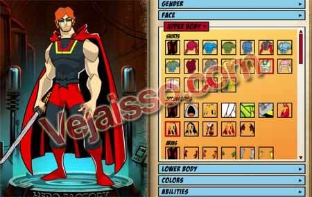 Criar-personagem-historia-em-quadrinhos-Criador-Heroi-RPG