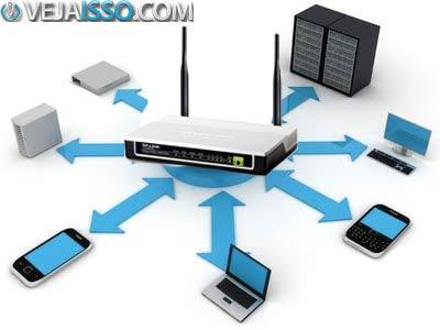 Roteador pode não aguentar o uso concomitante de varios dispositivos como celular, tablet, smartphone, notebook, computador e outros dispositivos, deixando sua conexão devagar