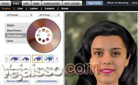 Fazer-Efeito-de-Maquiagem-em-fotos-Milhares-de-Modelos-de-Cabelo-Fotomontagem