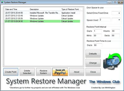 Baixar programa restaurar PC - Arrumar seu computador pelo Restauração do sistema