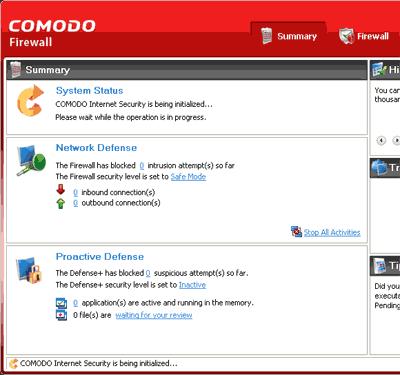 Comodo Firewall- Um dos 5 melhores softwares firewall para Windows