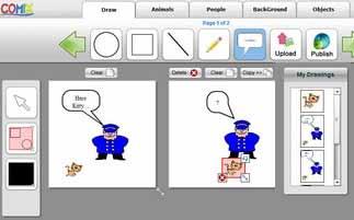 Criar seu proprio HQ grátis no PC - Criador de Revista em Quadrinhos para crianças