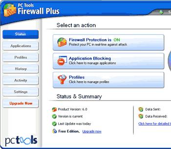 PC Tools Firewall para PC completo e gratis para baixar