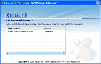 Programa Recuperar senha MSN Hotmail do PC - Hackear Live Messenger