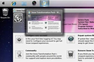 Transformar Windows 7 em Mac ao baixar Tema e Skin do Mac OS X