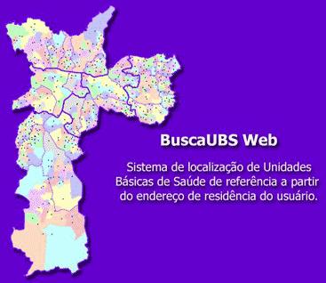 Encontrar UBS (posto de saude) mais proximo da sua casa ou trabalho (Sao Paulo) - Por Rua ou por CEP