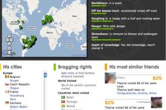 Mapa das suas viagens no Facebook - Mostre as cidade e países para onde viajou com Travel Map Facebook