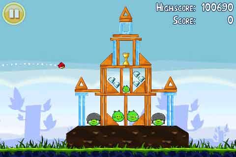 Jogar Angry Birds pelo Computador - Jogo do iPhone GRATIS para PC