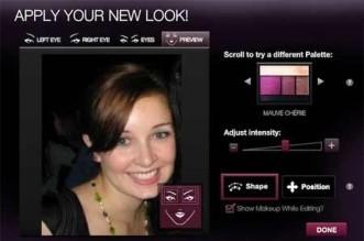Melhorar sua foto do perfil do Facebook - aplicar maquiagem deixar mais bonita