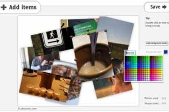 Criar colagem de fotos - Criador de montagem em mural de fotografias grátis e Automático