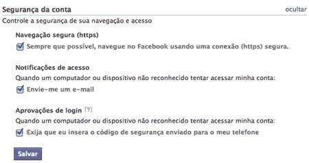 Proteger sua conta do Facebook de Hackers - Impedir que seu perfil seja acessado sem sua autorização