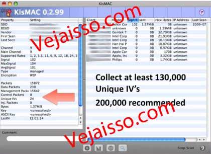 Como hackear senhas Internet WIFI com Mac - Quebrar senhas WEP e WAP usando Mac e MacBooks