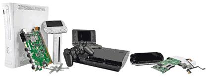 Tutorial conserto videogame - aprenda a consertar videogames, dos consoles Xbox 360, PS2, PS3, PSP, Nintendo DS, Wii