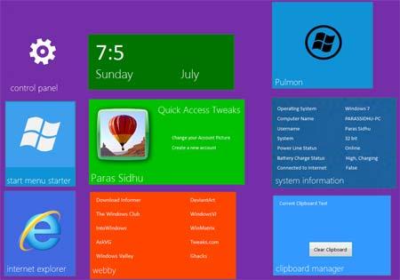 Baixar Tema do Windows 8 para o Windows 7
