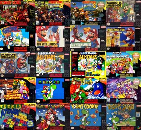 Os 25 melhores jogos de SNES - Super Nintendo