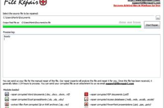 Baixar melhor programa para corrigir arquivos danificados - consertar documentos, fotos, ZIP, downloads corrompidos grátis