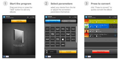 Baixar programa converter livros ebook para iPad e Android Tablets e Celular, Kindle- PDF, EPub