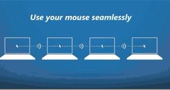 Baixar programa usar mesmo mouse entre computadores PC e notebook