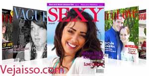 colocar sua foto na capa de uma revista famosa.
