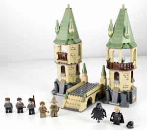 Lego Harry Potter Hogwarts e mais todos os outros Sets e coleções já vendidas