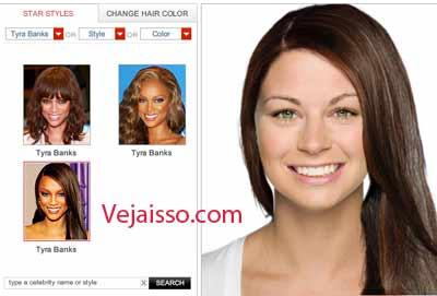 Mudar corte de cabelo na foto - Editar seus cabelos, estilo artistas