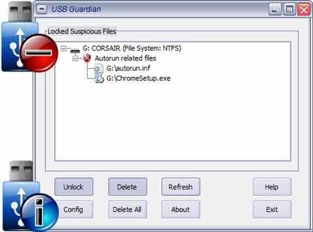 USB Guardian - excelente para quem tem muito medo de ser contaminado com o USB Drive
