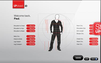 Medidas utilizadas para Comprar roupas nos Estados Unidos, China e Europa pela Internet