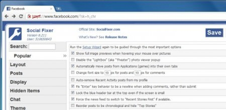 Trocar as configurações do Facebook - Mudar o Chat, tamanho da letra, noticias e muito mais