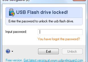 Baixar programa para proteger PenDrive com senha, Pen Drive password
