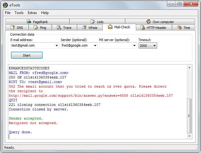 Baixar programa para verificar se email existe - Verificador e-mail