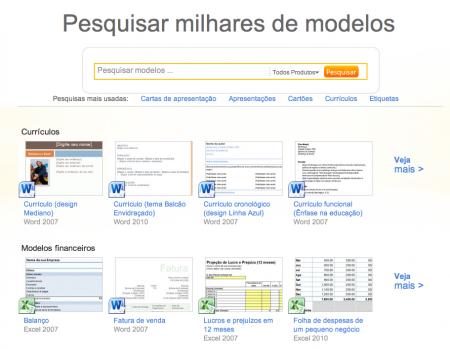 Coleção Microsoft Office Word, um dos melhores sites para baixar templates do Word, Design documentos word