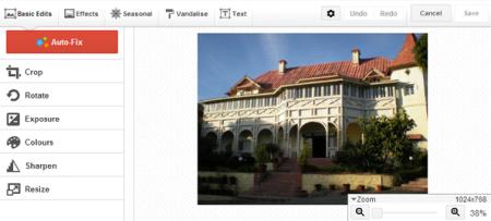 Google Plus - Adicionar efeitos as fotos, consertar cores, cortar, aumentar e mais