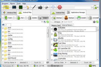 Melhor programa para gerenciar celular e Tablet Android - Instalar Apps, arquivos