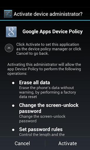 rastrear tablet android