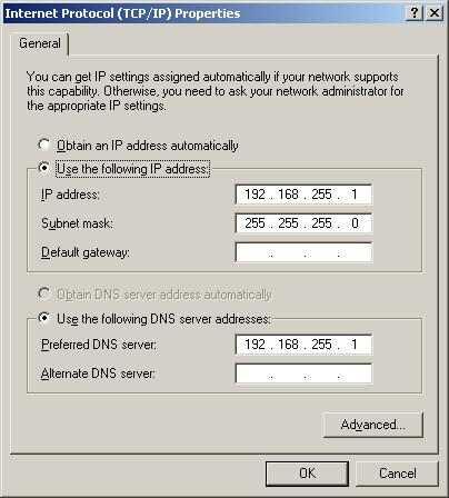 Configurar o DNS no Windows em Conexão, TCP/P, DNS