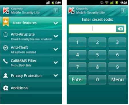 Aclamado App Antivirus Kasperky funciona muito bem capturando vírus e malware na versão grátis
