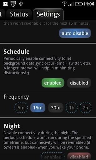 Aumentar a duracao da bateria do celular Android agendando funcoes e desligar automatico