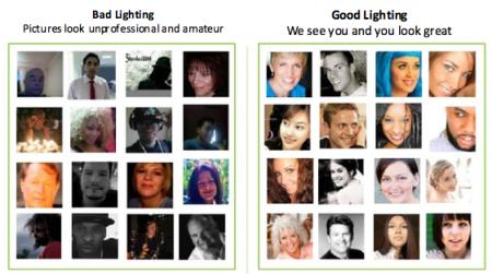 Escolha uma foto bem iluminada para colocar no seu perfil ou crachá